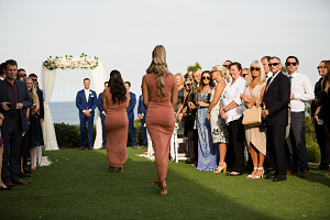 Overlook the ocean with your Wedding Ceremony