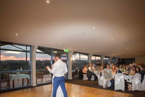 Wedding Venue Northern Beaches- Dance Floor